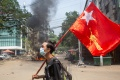 The death toll from the military crackdown since the beginning of the coup in Myanmar has already reached 772, while 3,738 are currently detained or have been sentenced [File: Stringer/Reuters]
