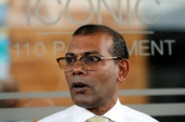 Nasheed in 2008 won the country's first multi-party elections [File: Dinuka Liyanawatte/Reuters]
