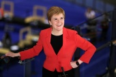 Scottish First Minister Nicola Sturgeon says she will press for a second independence referendum [File: Russell Cheyne/Reuters]