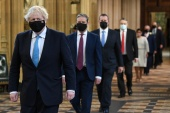 PM Johnson is hoping to revive his bid to rebalance the UK as the country moves out of the grips of the COVID-19 pandemic [Stefan Rousseau/PA Wire/Pool via Reuters]