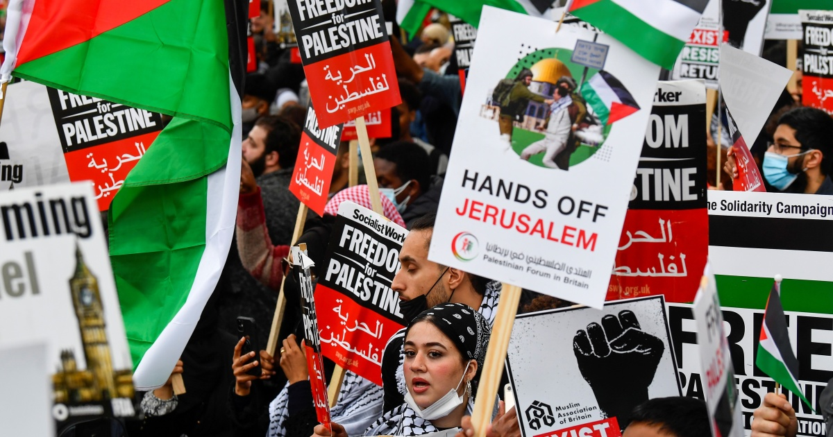In Pictures: Global protests in solidarity with Palestinians - aljazeera