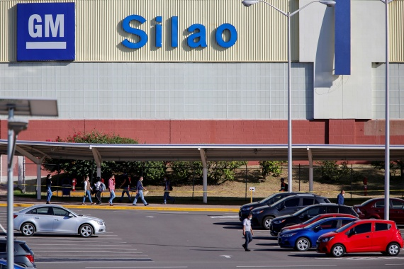 GM's union must hold a new vote within 30 days [File: Sergio Maldonado/Reuters]