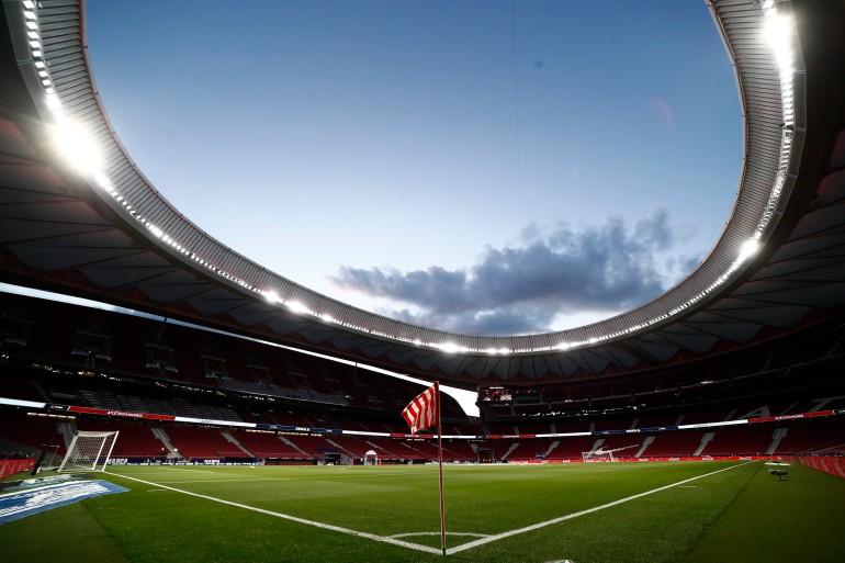 Atletico Madrid dapat memenangkan gelar liga pertamanya dalam tujuh tahun dengan kemenangan di Valladolid Sergio Perez / Reuters