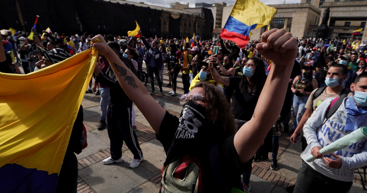Photo of Colombia enters the third week of anti-government protests Coronavirus pandemic News