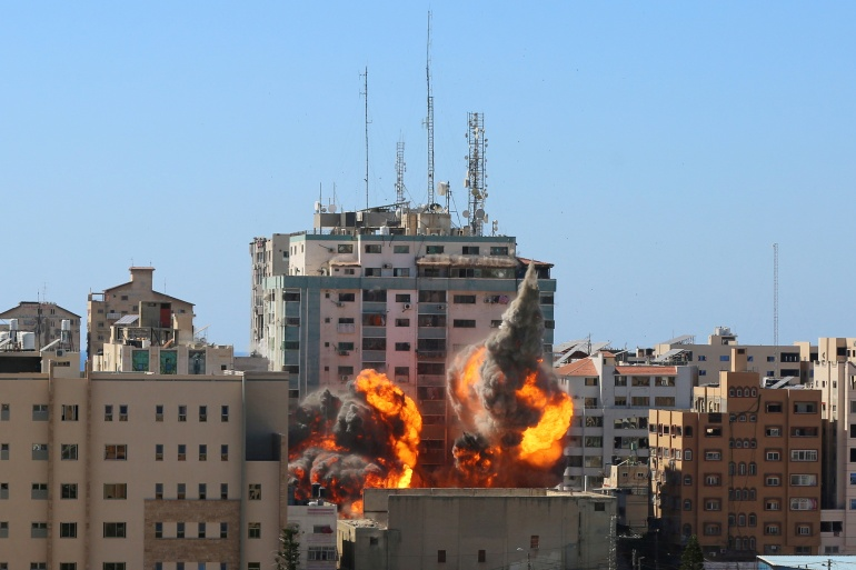 Israel bombs Al Jazeera Gaza offices