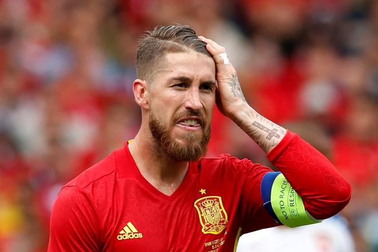 Ramos baru memainkan lima pertandingan di semua kompetisi tahun ini Albert Gea / Reuters