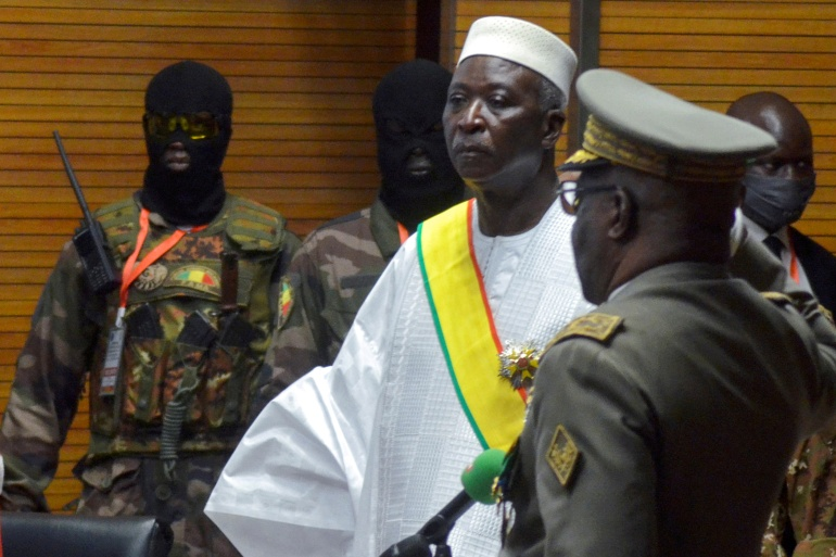 The military's actions, including the arrest of interim President Bah Ndaw, have jeopardised Mali's return to democracy following a coup last August and drawn condemnation from international powers [File: Amadou Keita/Reuters]