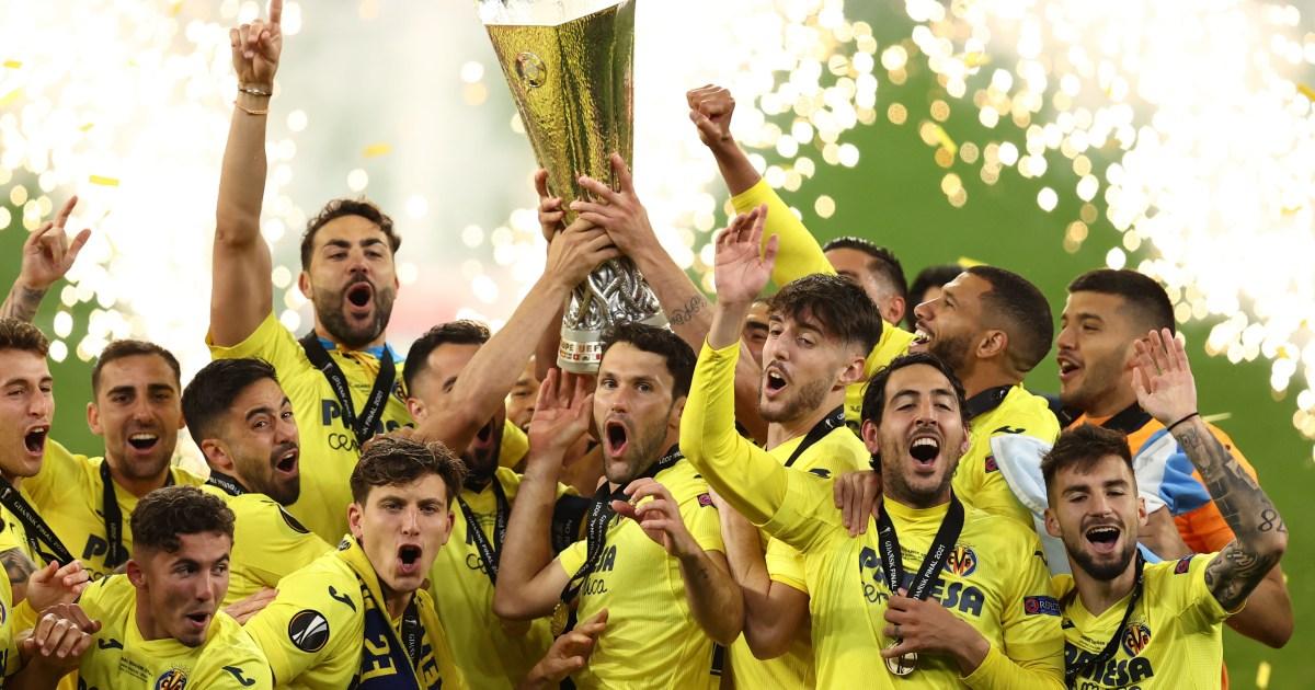 Villarreal beat Man Utd to win Europa League final: Live