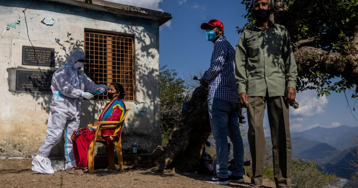 Death in the Himalayas: Poverty, fear propel India's COVID crisis