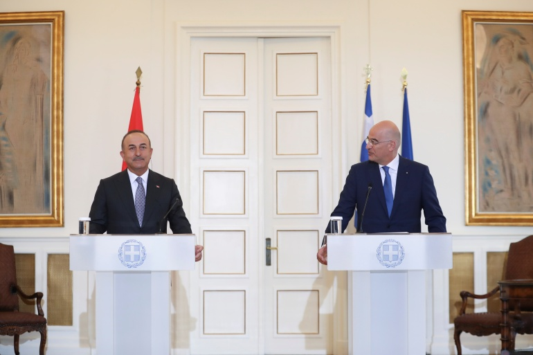 The announcement was made by the foreign ministers of both countries at a meeting in Athens [Costas Baltas/Reuters]