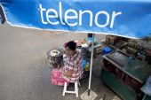 Telenor plans to stay in Myanmar for now, but its future in the country is uncertain, says its CEO [File: Brent Lewin/Bloomberg]