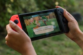 Animal Crossing saw its popularity surge during the pandemic [File: Chona Kasinger/Bloomberg]