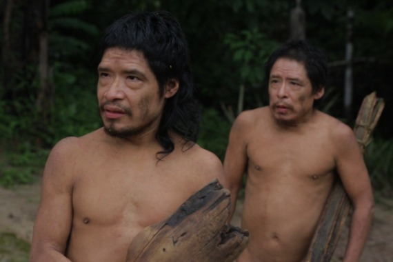 Pakui and his nephew Tamandua are the last two surviving male members of the Piripkura tribe who live on a reserve in Brazil's Mato Grosso state [Courtesy: Piripkura documentary]