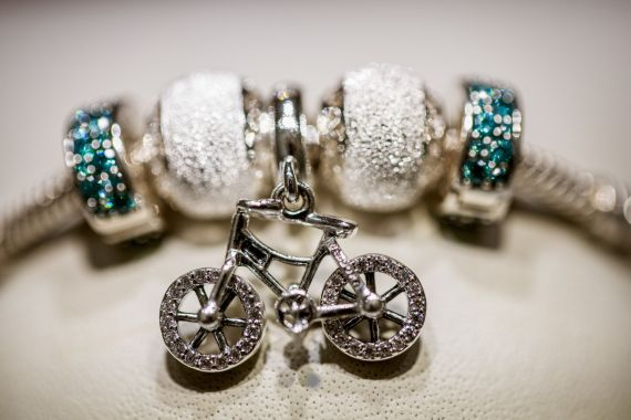 While mined diamonds only went into about 50,000 Pandora pieces last year - out of a total of roughly 85 million items - the move reflects greater demand for sustainability [File: Carsten Snejbjerg/Bloomberg]
