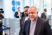 Iran's oil minister Bijan Namdar Zanganeh was at the centre of some of the most dramatic moments in OPEC's recent history including in mid-2018, when he walked out of a meeting when he felt slighted by Khalid Al-Falih, the former oil minister of Iran's arch-rival Saudi Arabia [File: Bloomberg]