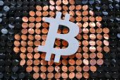 Bitcoin is still up more than 300 percent since last May, but the speed of the recent rout has shaken crypto's new believers and cast doubt on the idea that it's maturing into a more stable asset class [File: Nicolas Tucat/Getty Images/AFP]