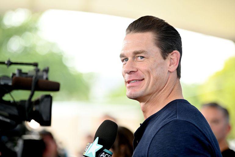 Aktor John Cena adalah orang Barat terkenal terbaru yang mendapat kecaman karena secara terbuka melintasi garis politik China File Dia Dipasupil / Getty Images