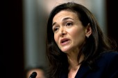 Facebook chief operating officer Sheryl Sandberg, Salesforce CEO Marc Benioff and Unilever CEO Alan Jope added their names to a list of more than 40 global business leaders who have joined the Business Leaders Against the Death Penalty campaign [File: Jose Luis Magana/AP Photo]