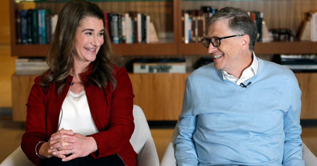 The couple said in a statement they would continue to work together at their namesake philanthropic foundation.