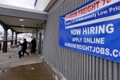 The surprisingly low number of new jobs created in April is raising concerns that businesses may find it hard to hire workers quickly as the United States economy keeps improving [File: Charles Krupa/AP]