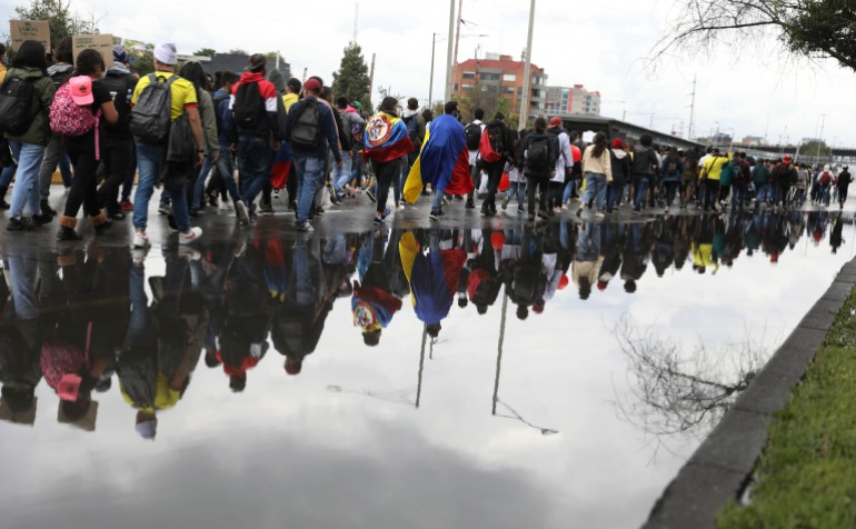 Colombian protests after government abolished tax reform |  New protests