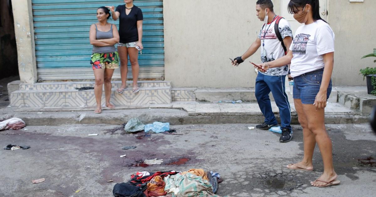 'Carnage': 25 killed in Rio de Janeiro's deadliest police raid