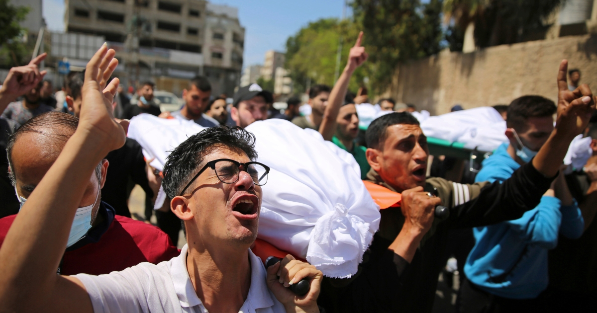 In Pictures: Funerals and destruction as Israeli attacks continue