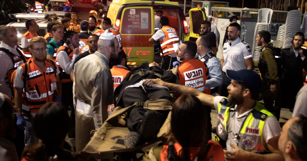 Two dead as stand collapses at synagogue in Israeli settlement