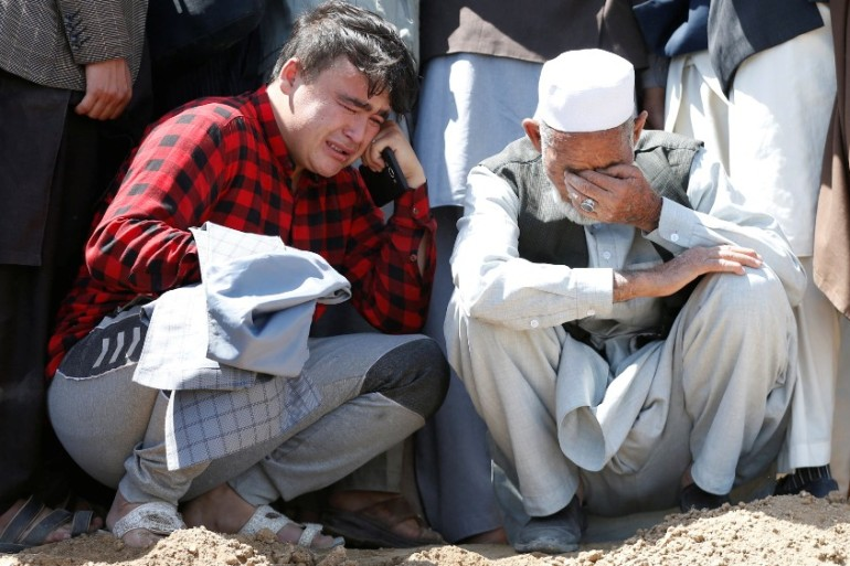 Residents Al Jazeera spoke to on Sunday said the government has not done nearly enough to secure Dasht-e-Barchi [Reuters]