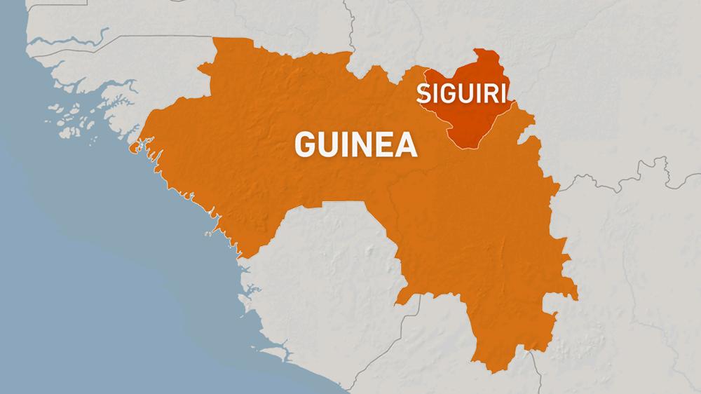 At least 15 killed in Guinea after landslide hits gold mine