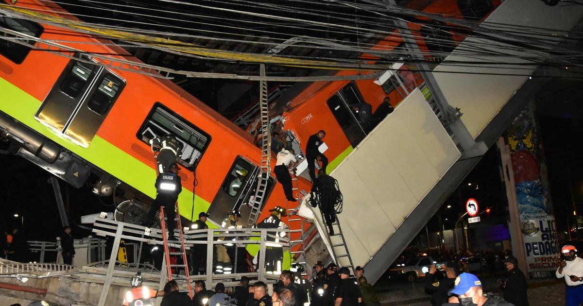 'Structural' failure blamed for deadly Mexico metro crash