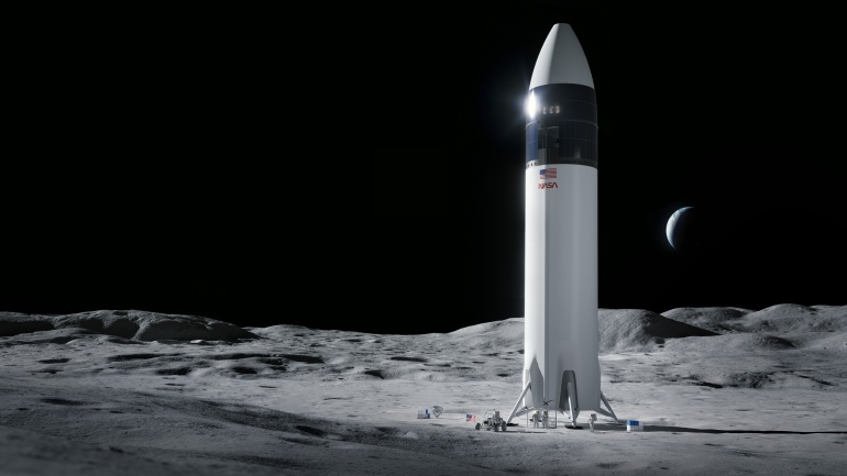 - spacex lunar lander - Bezos in space: Amazon CEO, brother claim seats on first flight   Science and Technology News