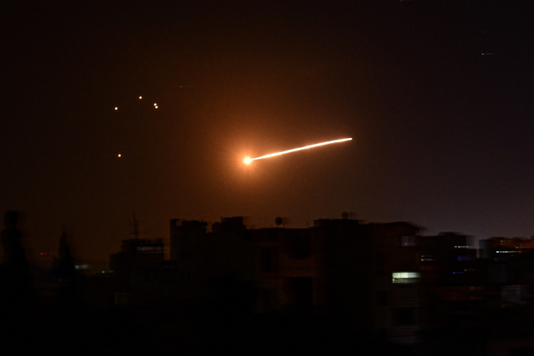 Since the war broke out in Syria in 2011, Israel has carried out hundreds of air attacks [File: SANA/AFP]