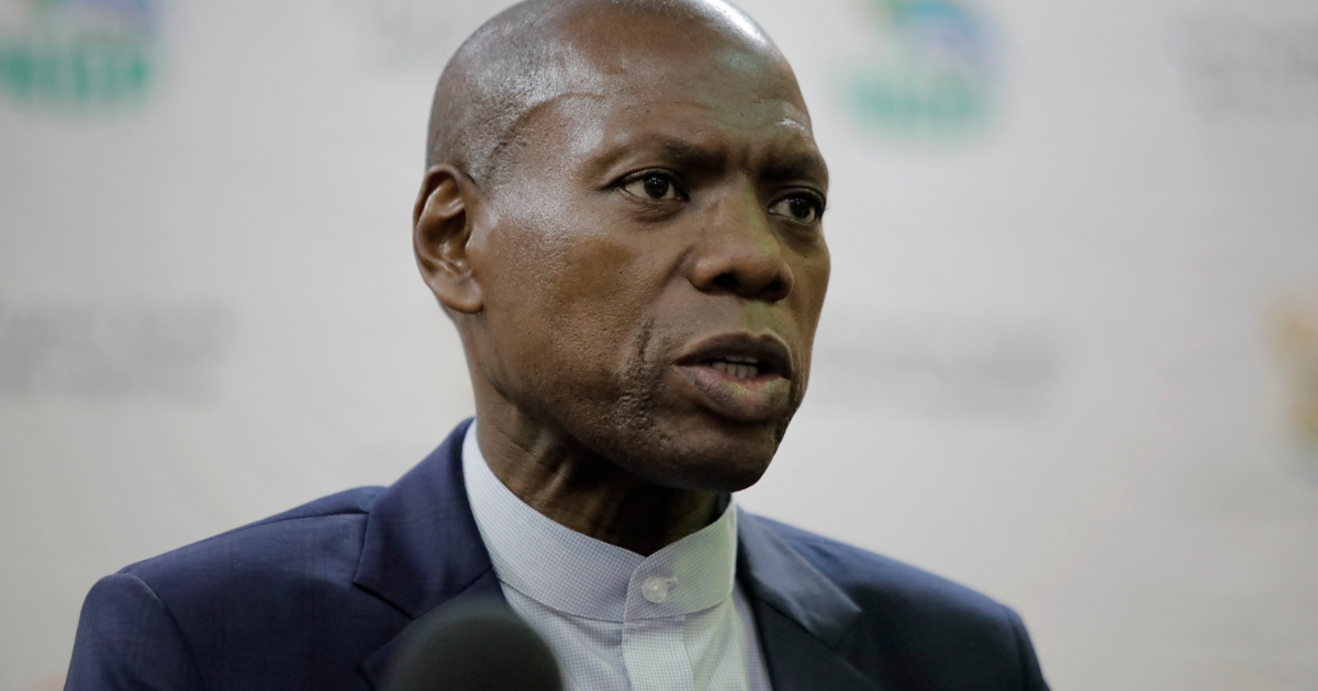 S Africa health minister put on leave over corruption allegations