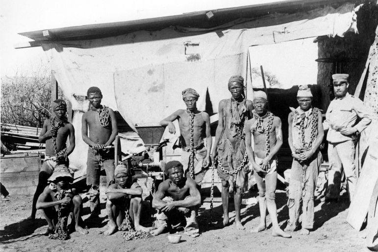 Namibia Ovaherero Nama slam exclusion from Germany deal