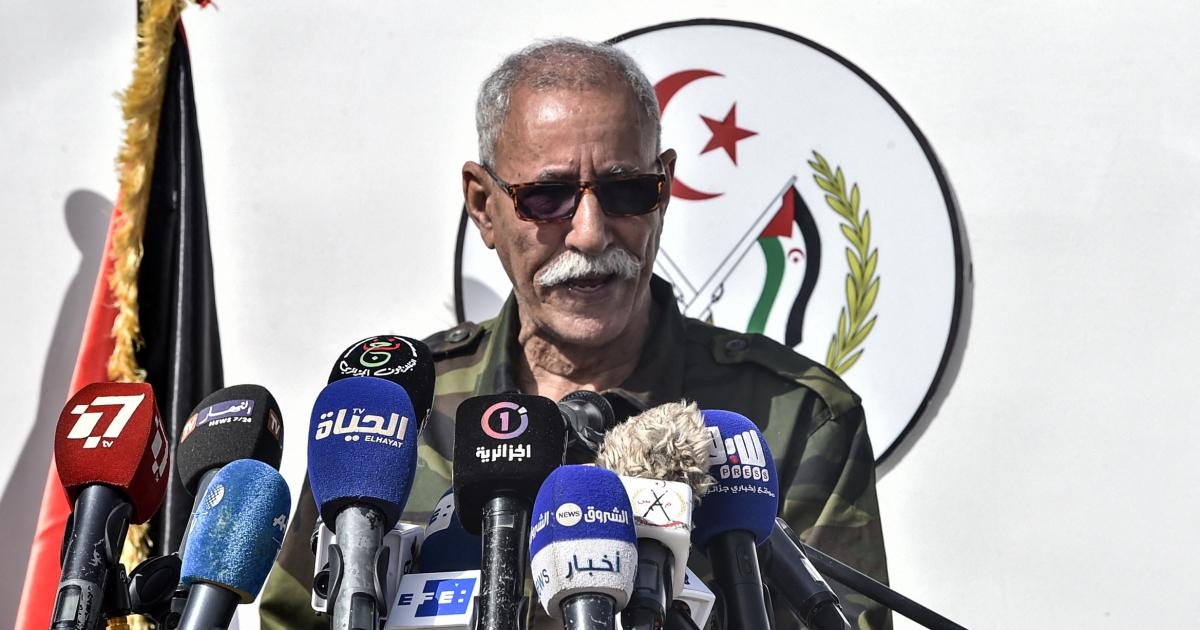 Western Sahara independence leader returns to Algeria