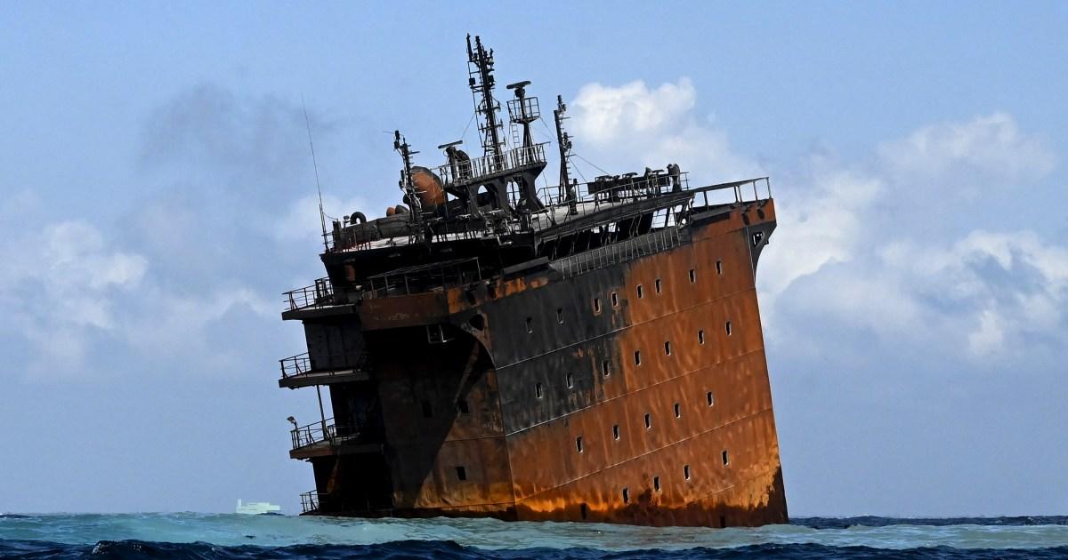 Sri Lanka seeks initial $40m from fire-ravaged ship's operator