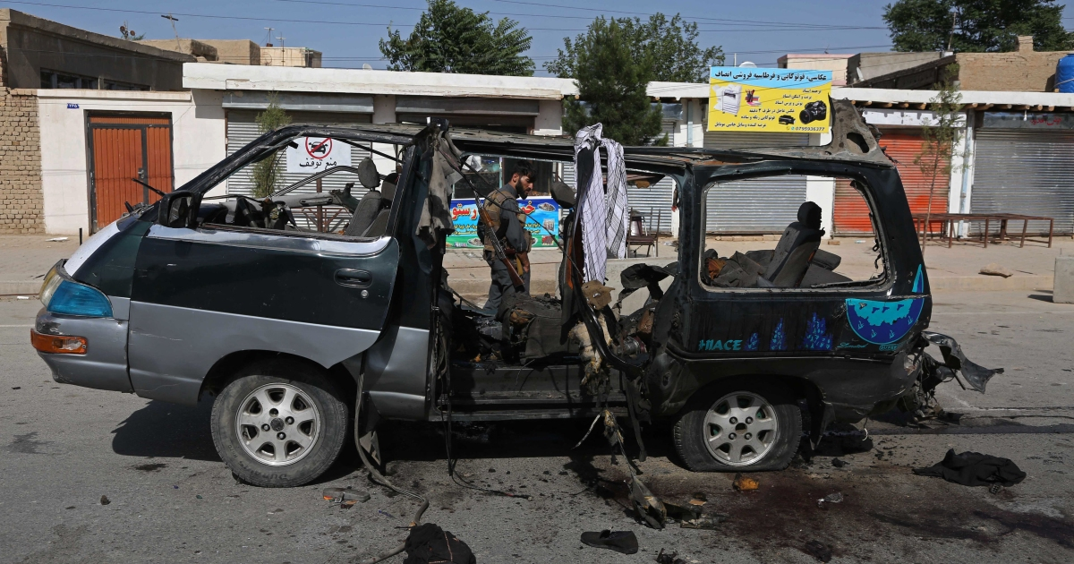 Roadside bomb kills 11 people in northern Afghanistan thumbnail