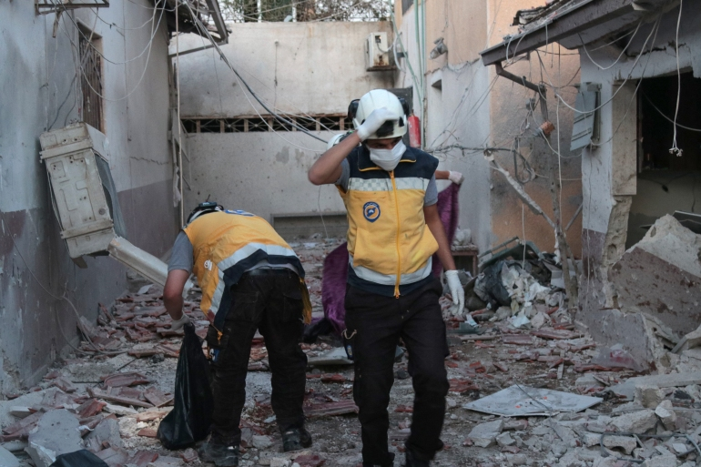 Deadly missile attack targets hospital in Syria's Afrin | Bashar al-Assad News