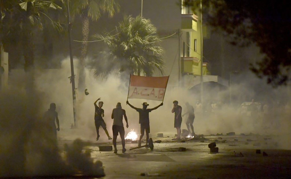 Protests against police brutality spread across Tunisian capital