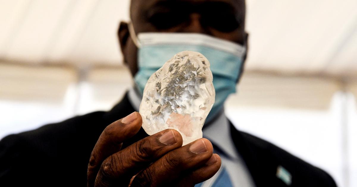 Botswana says it has found the world's 'third largest' diamond