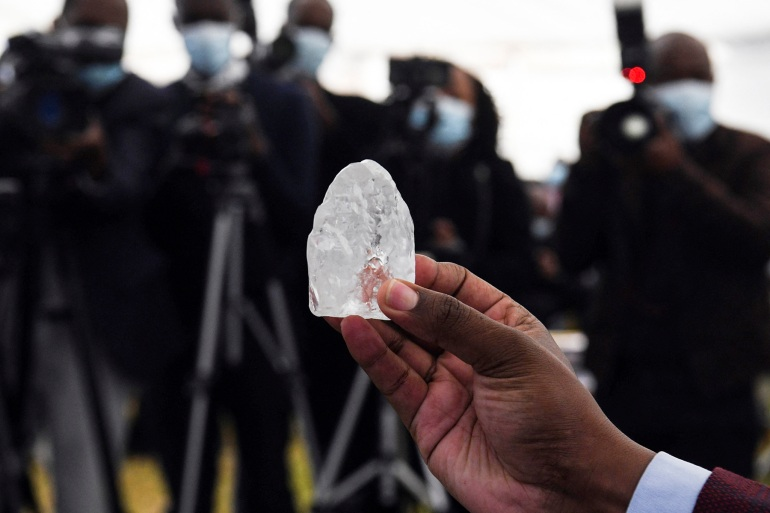 Botswana says it has found the world's 'third largest' diamond | Mining  News | Al Jazeera
