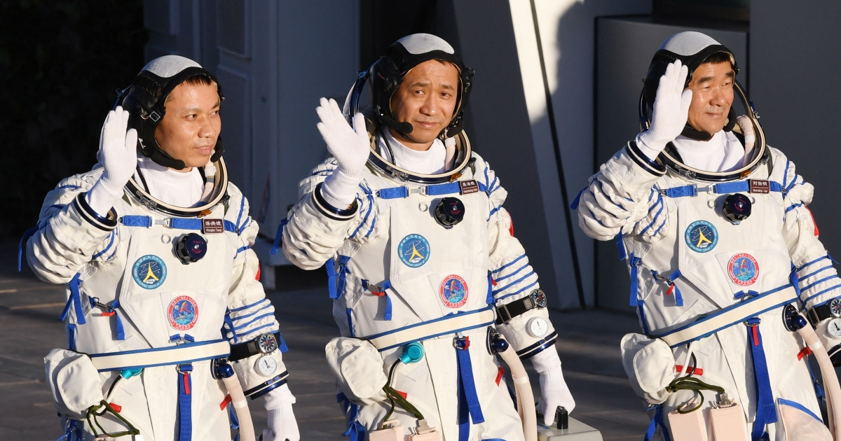"""Photo of """"Space Dream"""": Chinese astronauts set off for the new space station   China News"""