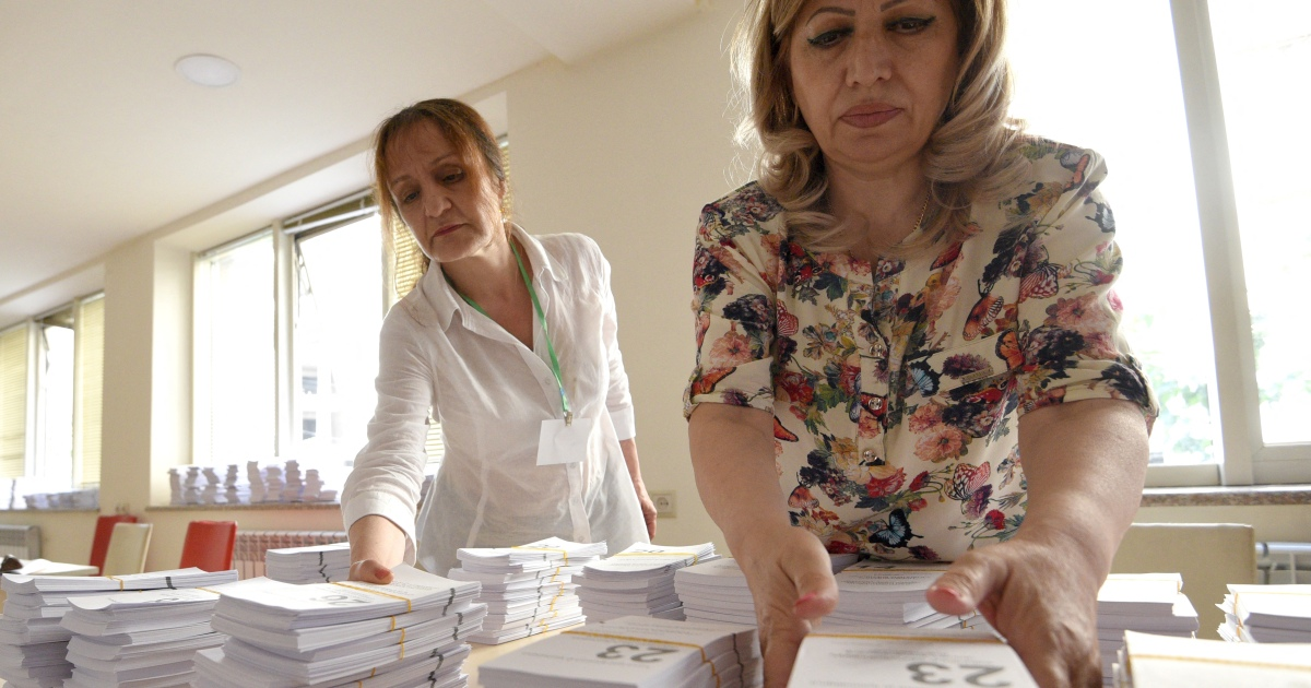 Polls open in Armenia snap parliamentary election thumbnail