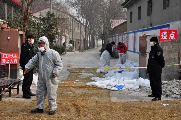 H7N9 has infected 1,668 people and killed 616 since 2013, according to the FAO [File: Stringer/AFP]