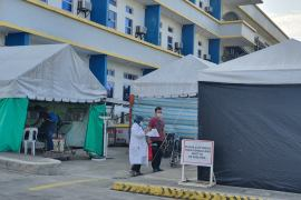 As early as the third week of May, hospitals in Zamboanga del Norte had already reported 100 percent full capacity of ICU beds and respirators, according to Department of Health data [Ted Regencia/Al Jazeera]