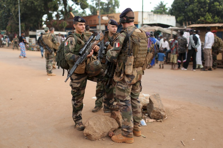 France maintains a force of nearly 300 soldiers in the CAR [File: Siegfried Modola/Reuters]
