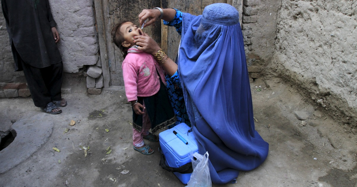 Gunmen kill four polio workers, wound three in Afghanistan's east