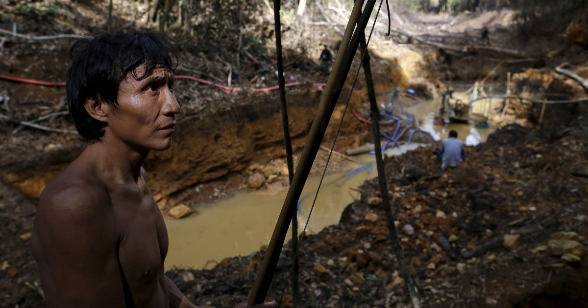 Brazil: Indigenous communities reel from illegal gold mining