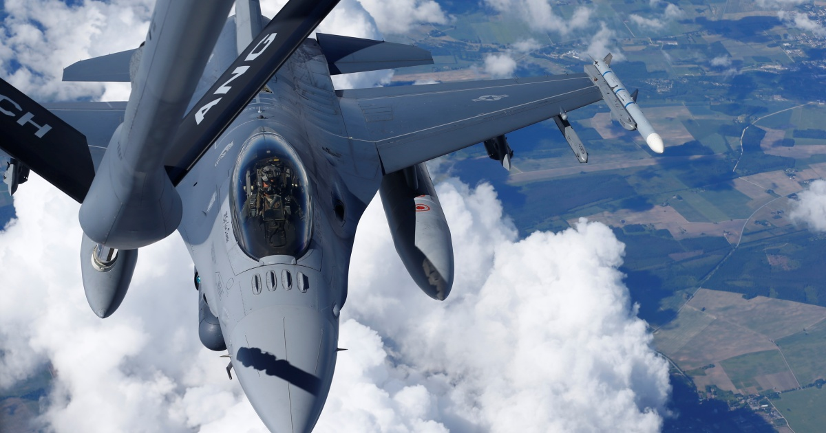 US approves possible sale of F-16s, missiles to the Philippines